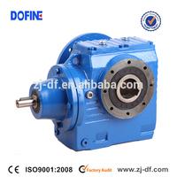 DOFINE industrial gear box supply S series helical worm gear unit