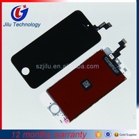 Grade AAA 100% Test without spots for LCD iPhone 5S Display with Touch Screen Digitizer Assembly