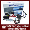 Car H1 H3 H7 H11 H13 35W 4300K 6000K 8000K 10000K 12000K HID Xenon Lights w/ Mini Ballasts Kit Set