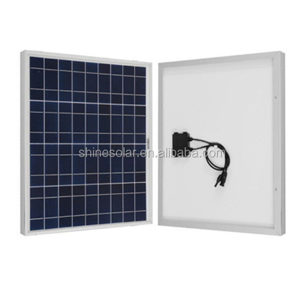 solar lighting system 10w 20w 25w 30w 40w poly solar panel