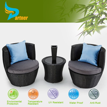 Wholesale New Design Synthetic Rattan Karachi Furniture Compact Dining Table And Chairs Outdoor Furniture