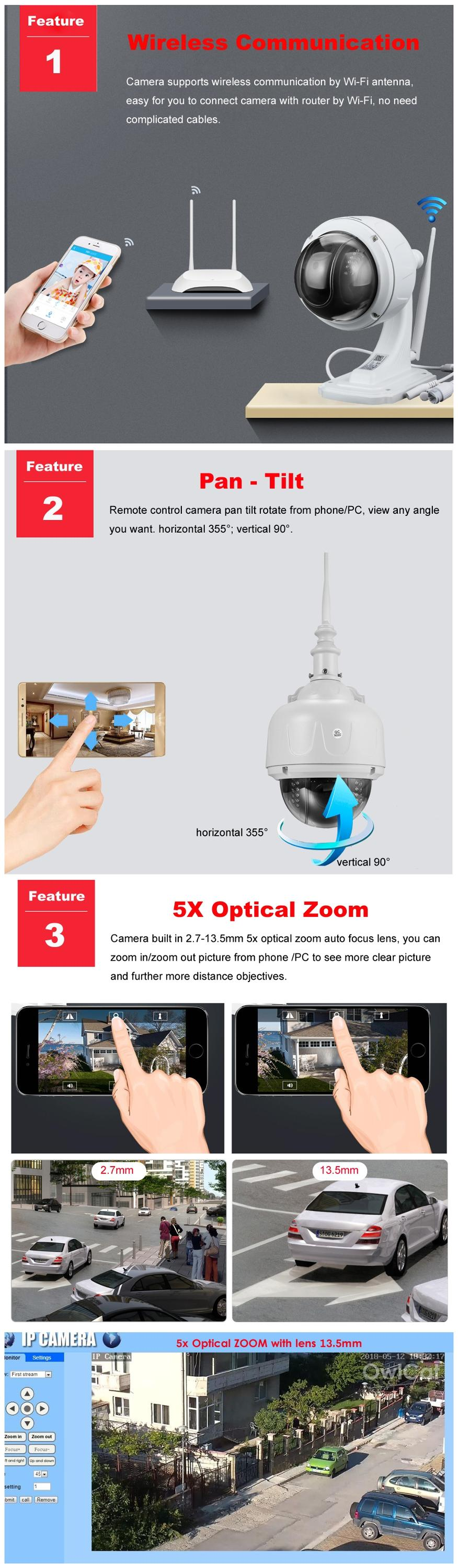 Sd13w Outdoor Mini Ball Cctv Camera Ip66 Waterproof 5x Zoom Ptz Rotation  960p Hd Video - Buy Mini Ball Cctv Camera,Ball Cctv Camera,720p Hd Cctv