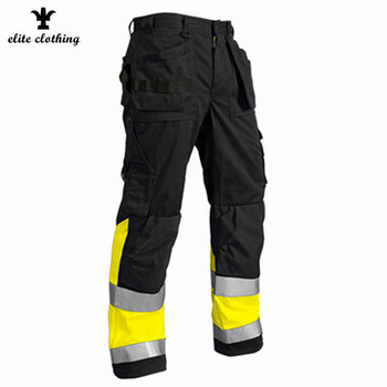반사 망 multi pocket cargo work pants 와 니 pads
