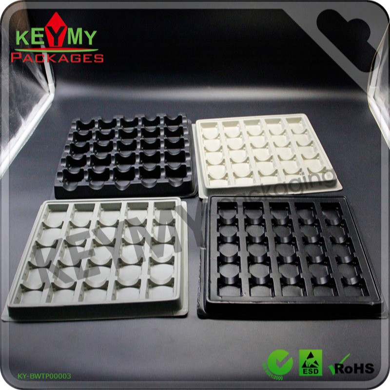 vacuum forming product anti static cable tray with bottom price in Shenzhen