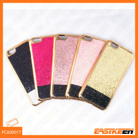 Electroplated finish Mobile Phone Cover Case for iphone 6 6plus 7 plus TPU CASE