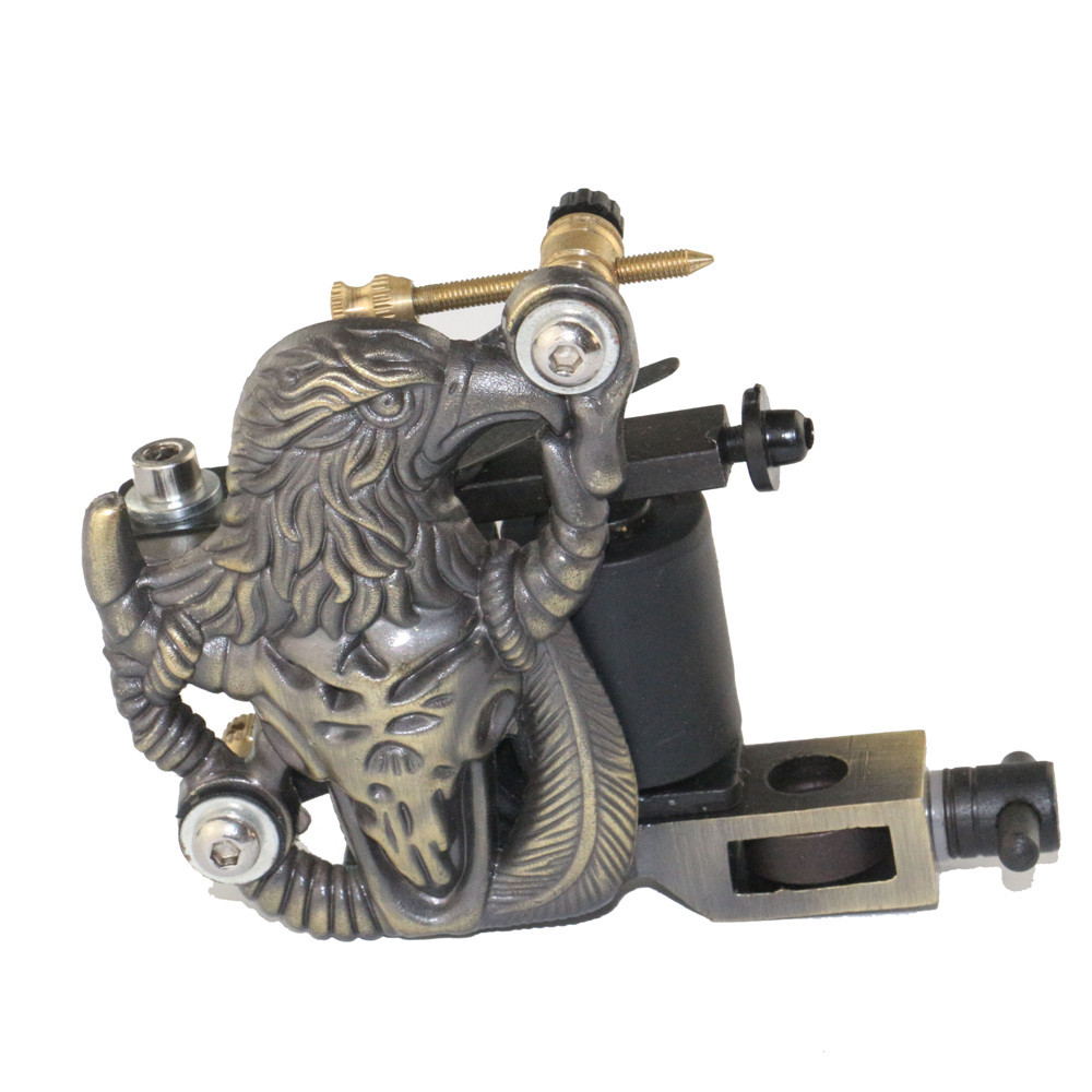 5a1d829062ffc Get Quotations · Pro Eagle Coil Tattoo Machines Liner   Shader Dual 10 Wrap  Coil Machine Manual Tattoo Machine
