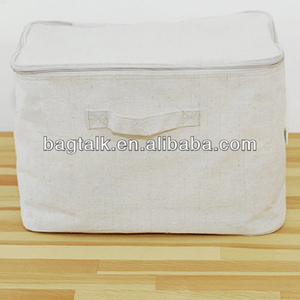Exceptionnel Vision Canvas Storage Box With Zipper