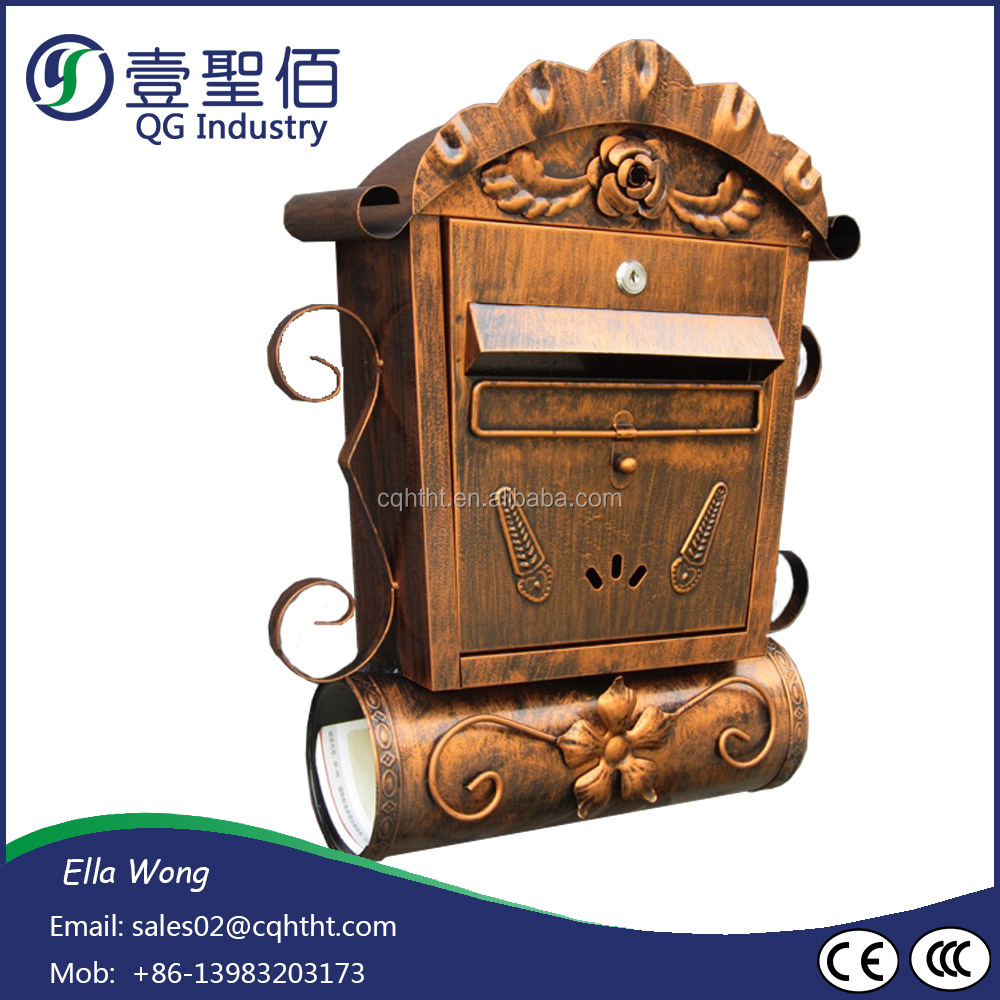 Garden model made in China outdoor letter box