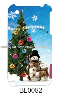 christmas tree cell phone designs cases for iphone 3g/3gs
