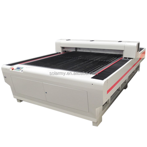 co2 laser cutting machine for metal and non-metal silver laser cutting machine