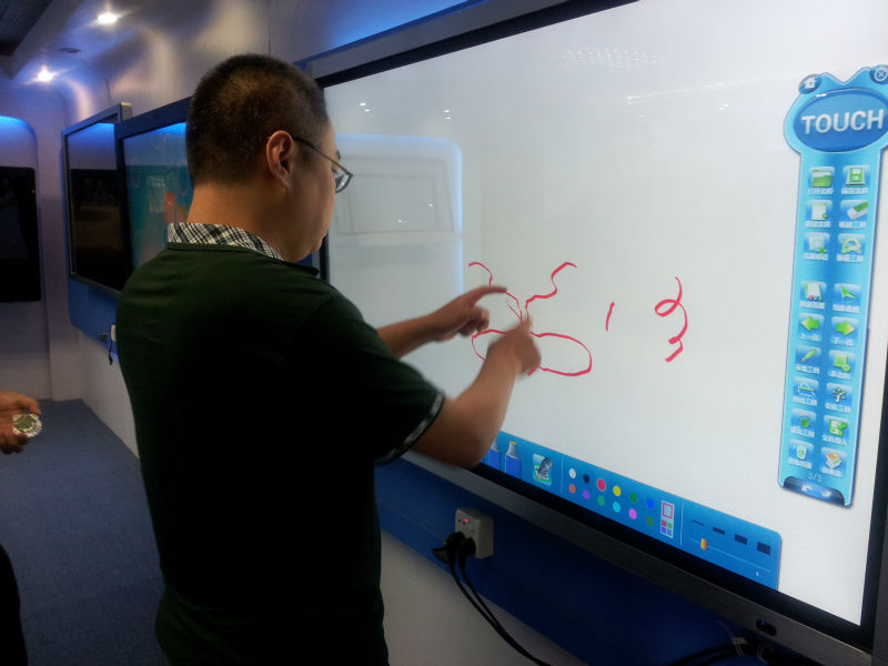 Touch Screen Projector Board