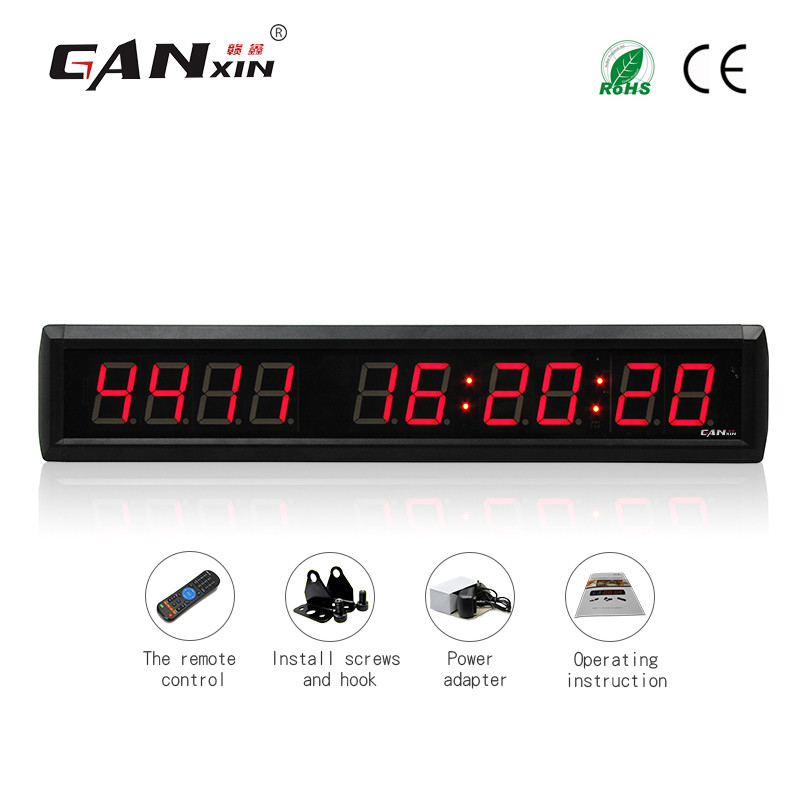 [Ganxin]1.8'' Red Event Timer Cheap Battery Powered Led Days Timing Clock 9999 Days Countdown Event Timer