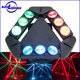 New hot sale stage lighting equipment 9*10W RGBW 4IN1 LEDs beam spider RGB laser moving head light for sale