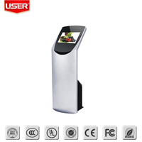 4/6/10 points touch payment kiosk with WIFI i3/i5/i7 pc optional