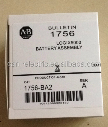 1756-BA2 / 1756BA2 AB ControlLogix L6X Ser B ONLY Battery Assy * NEW SEALED* IN STOCK