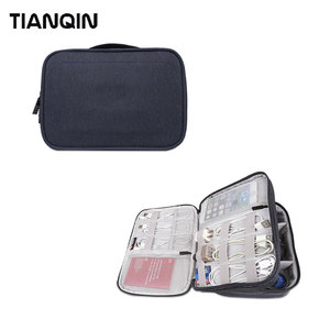 Wholesale Digital Accessories USB Cable Organizer Bag iPad Storage Bag