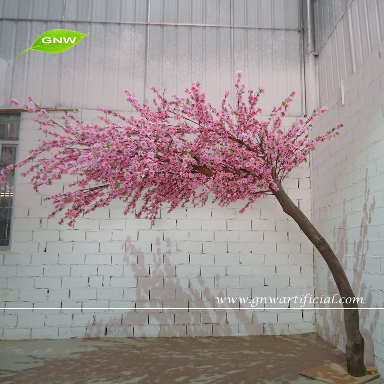 Gnw Bls1507 18 Artificial Bent Cherry Blossom Tree Used In Wedding