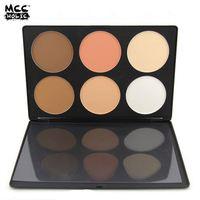 Newest factory sale simple design makeup blush bronzer & highlighter for 2016
