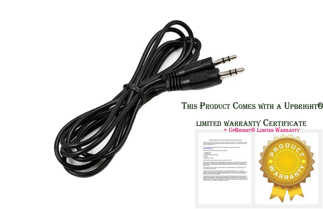 UpBright 3.5mm Audio Stereo Cable Cord Lead For Sirius XM Radios SiriusXM Satellite Radio Cables Unlimited AUD-1100-06 AUD-110006