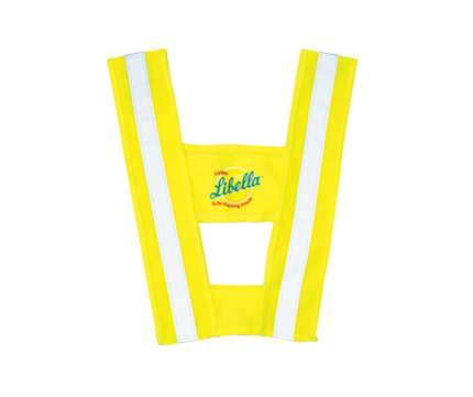 EN417 child safety vest with kid bicycle