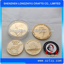 2012 custom metal poker chips coin