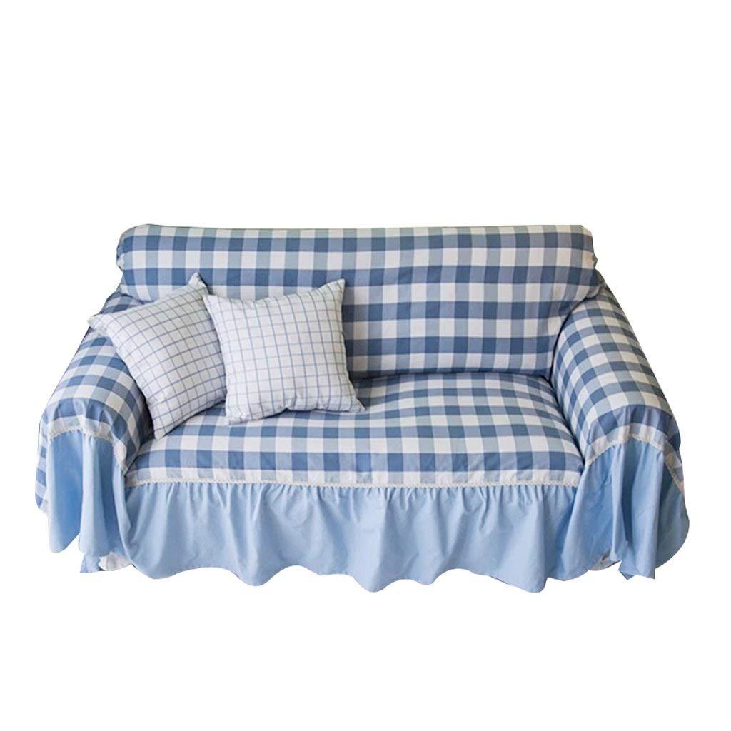 Get Quotations Cloth Art Sofa Towel Cover Full Cotton Lattice Soft Solid Durable