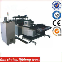 TJ-97 Digital Rubber Stamps Textile Hot Foil Stamping Machine Hot Stamping Die Making Machine for Non-woven