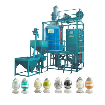 Automatic EPS Styrofoam Pre Expander Ball Production Line Machines