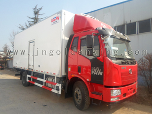 High quality glass reinforced plastics PU compound refrigerated truck body