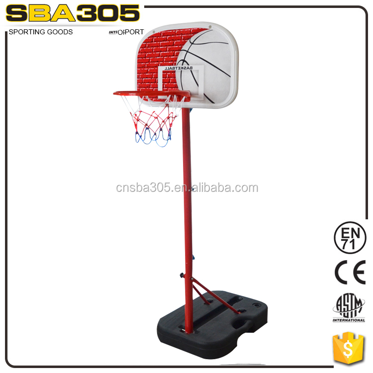 portable steel hoops basket ball stand