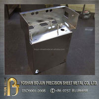 Stainless steel 316 304 sheet metal fabrication laptop housing