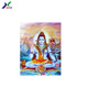 Customized Religious picture 3D Lenticular Hindu Indian God Poster