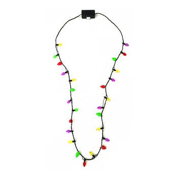 Christmas Light Necklace.Factory Wholesale Christmas Lights Bulb Flashing Necklace Buy Light Up Christmas Necklace Led Christmas Light Necklace Flashing Holiday Necklace