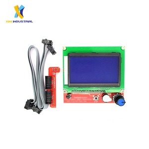 3D Printer Smart Controller RAMPS 1.4 12864 128X64 LCD Graphic Control Panel SD Card