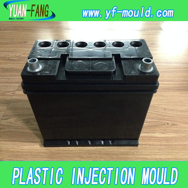 L6 OEM Custom plastic injection car Battery Box Case Mould