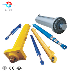 6 inch bore x 18 inch stroke welded cross tube 3000 psi hydraulic cylinder