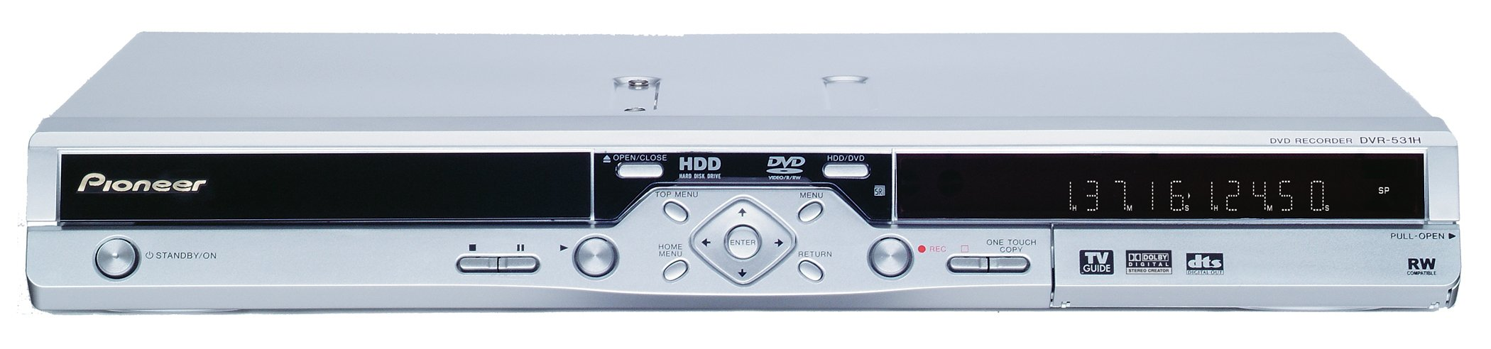 Refurbished Pioneer DVR-531H Digital Video Recorder/DVD Recorder with 80 GB Hard Drive