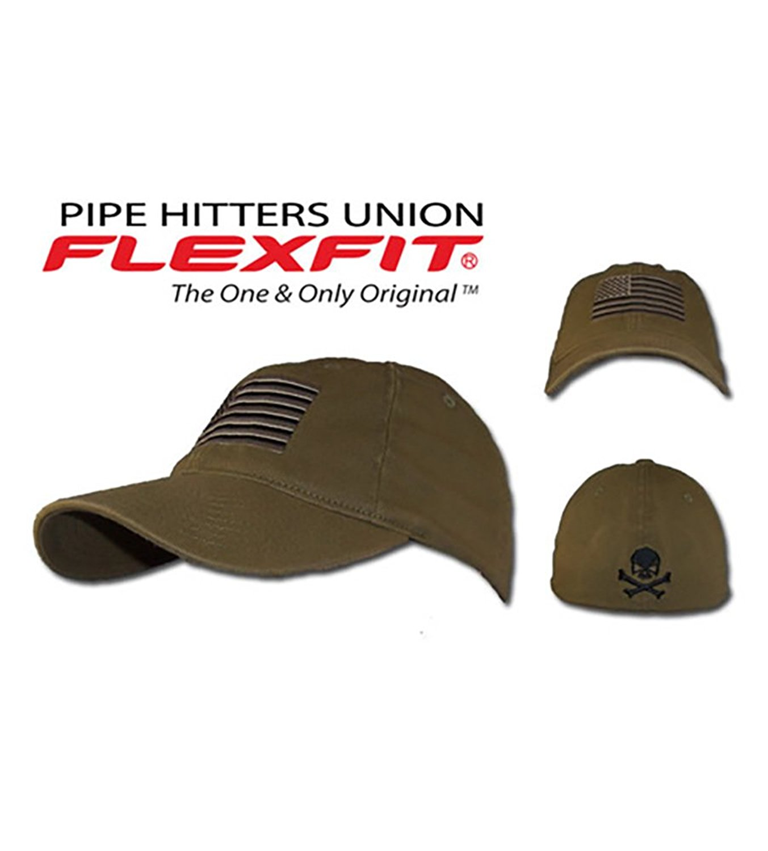 0a3852035eaf6 Pipe Hitter s Union US Flag Flex Fit Low Profile Tactical Cap (Small    Medium