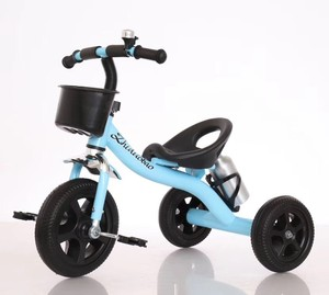 2018 new modle baby tricycle l steel kids pedal trike,air tire child's pedal tricycle
