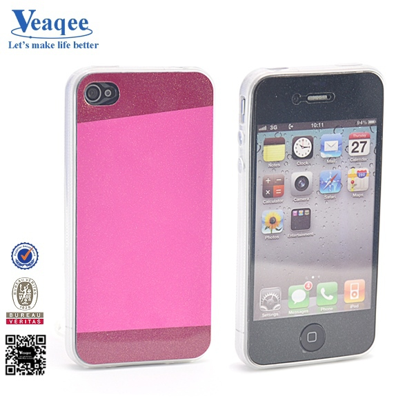 Veaqee consider overall style new crystal tpu s-line hard cover case for iphone 4s