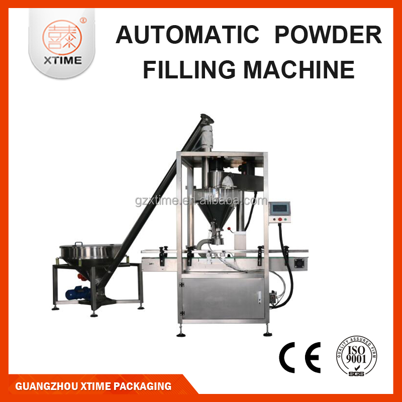 Milk powder tin can filling machine