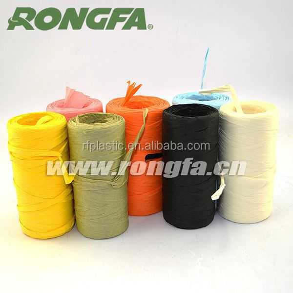 Colorful raffia ribbon raffia yarn for gift packaging