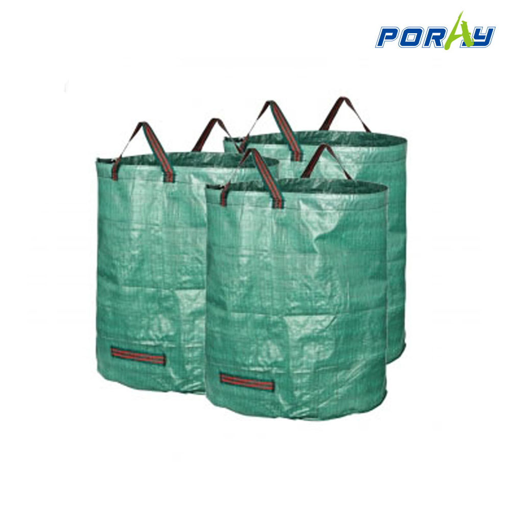 272l Reuseable Heavy Duty Gardening Bags Leaf Waste Bags grow bags