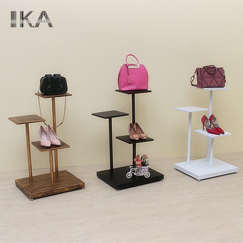 6d3c30e961ce Comprar zapatos personalizados expositores zapato y bolsa vitrina rack para  tienda de zapatos diseño