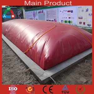10m3 Folding Small Biogas Digester Collapsible PVC Plastic Septic Tank
