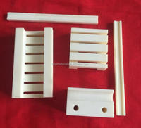 High precision insulating machined ceramic 99% alumina ceramic parts