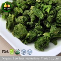 100% Natural FD vegetable organic freeze dried spinach for fast food