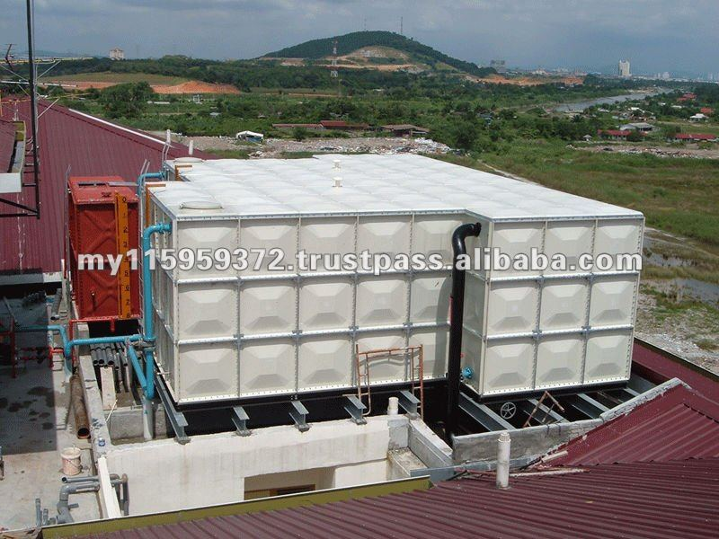 WATER TANK - SUNNIK SMC (FRP/GRP) SECTIONAL PANEL TANK