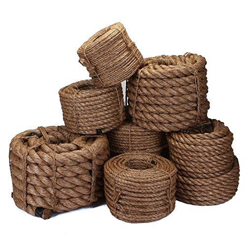 Wholesale China Manufacturers braided 3 strands manila jute rope hemp rope sisal rope