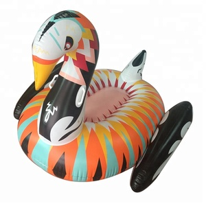 Cheap Inflatable Colorful Swan Pool Beach Float Toys For Water Party